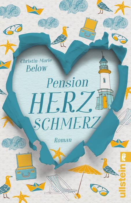 Christin-Marie Below - Pension Herzschmerz - Cover groß
